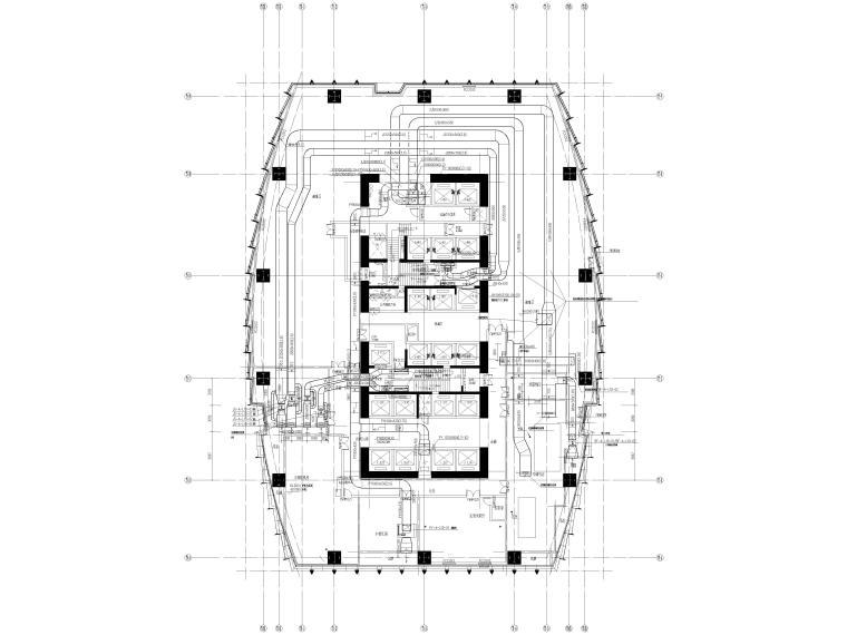 湖北53层超高层大型商业综合体暖通施工图_3