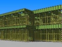 二层模板工程BIM案例分享