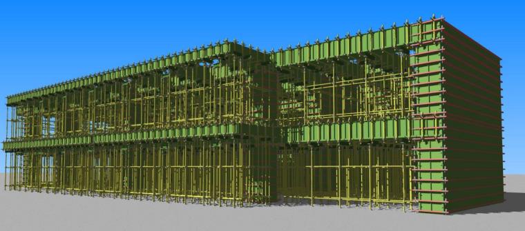 二层模板工程BIM案例分享_1