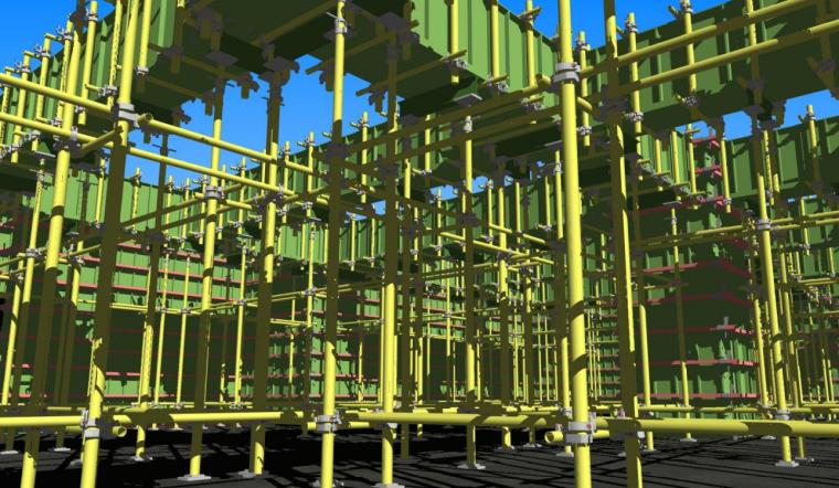 二层模板工程BIM案例分享_4
