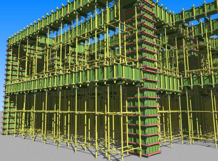 二层模板工程BIM案例分享_3