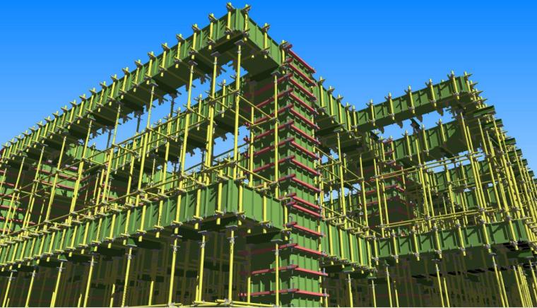 二层模板工程BIM案例分享_6