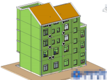 地下一层车库+四层住宅BIM案例分享