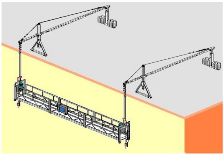 中建高处吊篮施工安全专项施工方案模板2021_1