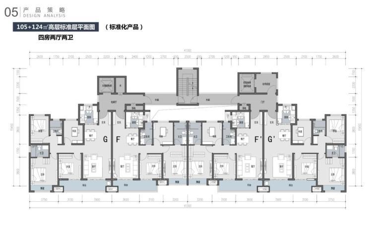 江苏新中式园林社区高层+洋房建筑方案2020_3