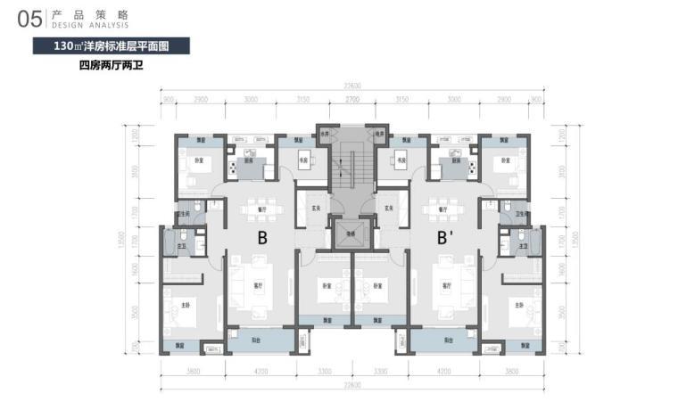 江苏新中式园林社区高层+洋房建筑方案2020_4