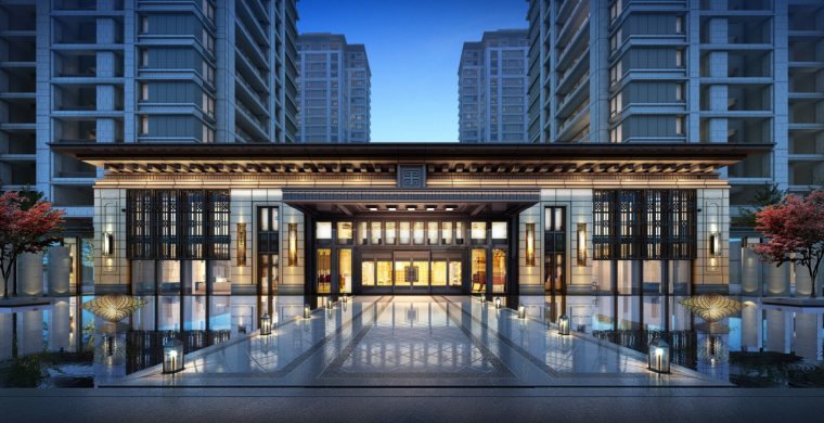 江苏新中式园林社区高层+洋房建筑方案2020-image.png