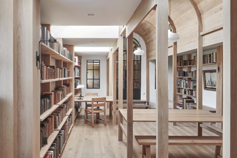 英国斯坦布里奇磨坊的新图书馆_3