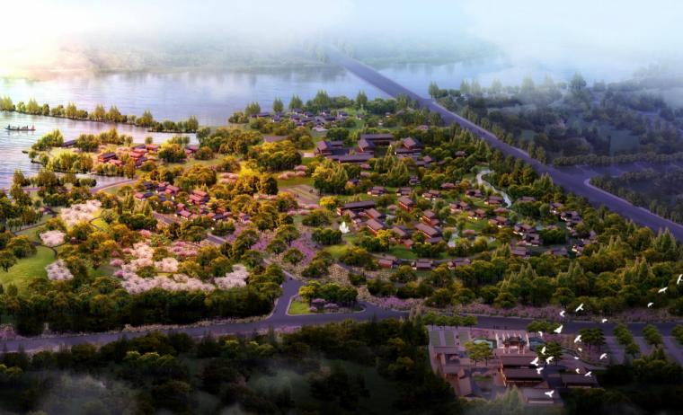 [四川]现代温泉疗养休闲度假区景观规划设计_1
