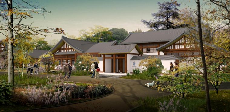 [四川]现代温泉疗养休闲度假区景观规划设计_3