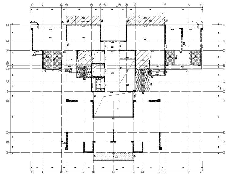 剪力墙城市综合体结构施工图120p_1