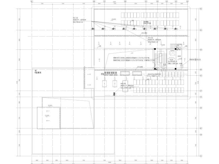 暖通施工图全套完整图纸2021_8