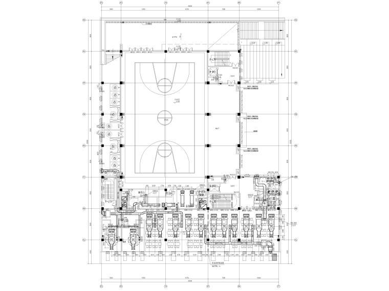 暖通施工图全套完整图纸2021_3
