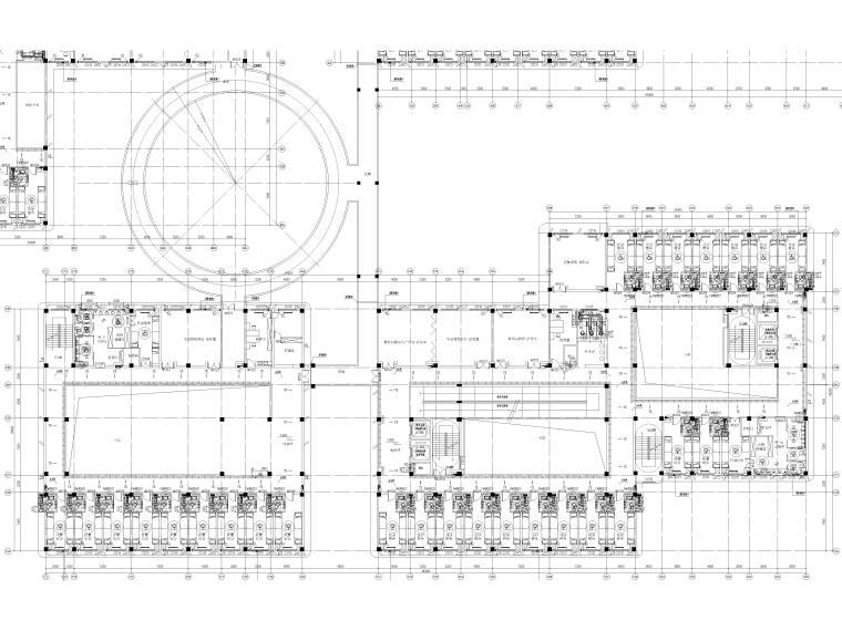 暖通施工图全套完整图纸2021_9