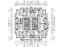 总部科研办公区办公室内装图纸+主材表2020