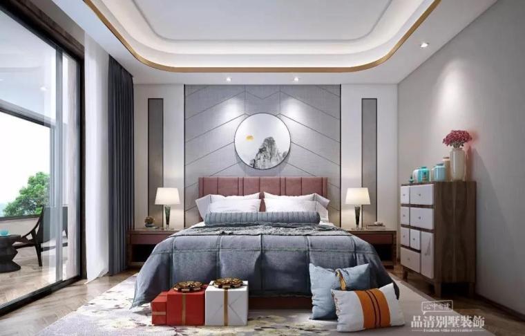 别墅装修|347㎡新中式风格案例赏析_6