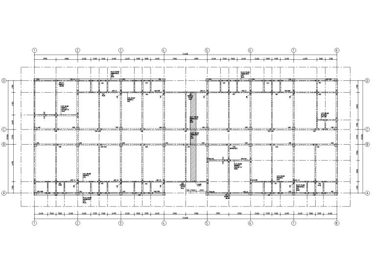 5层钢筋混凝土框架结构宿舍施工图2019_2