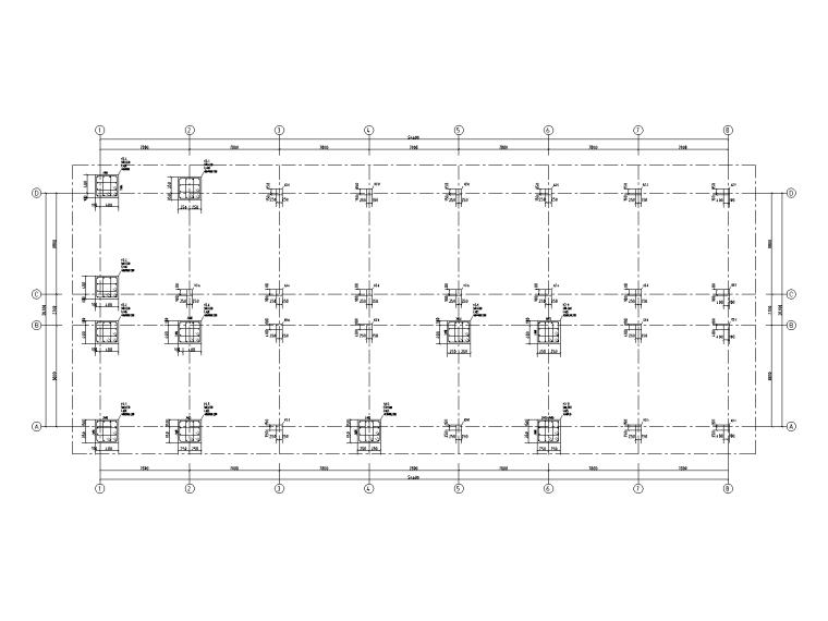 5层钢筋混凝土框架结构宿舍施工图2019_5