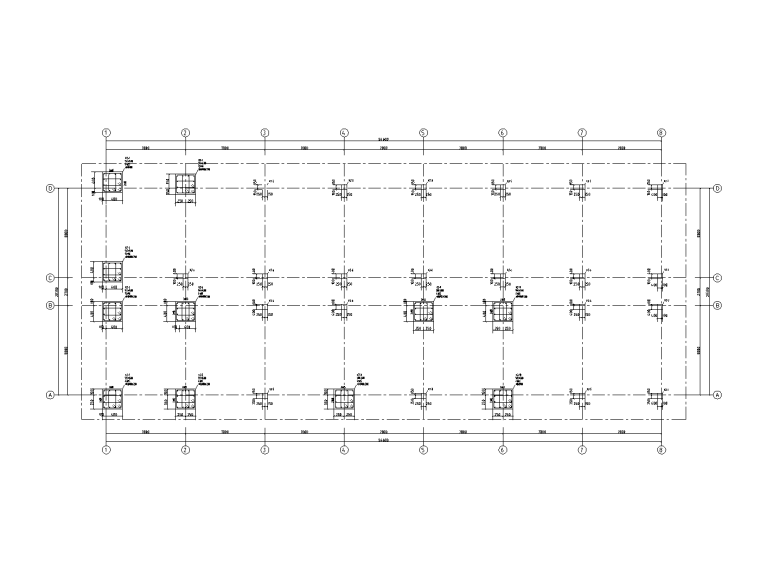5层钢筋混凝土框架结构宿舍施工图2019_6