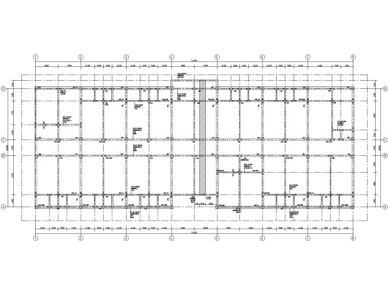 5层钢筋混凝土框架结构宿舍施工图2019_1