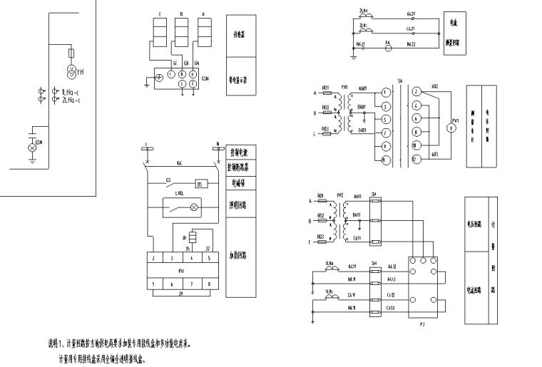 厂房10kv配电工程图纸_3