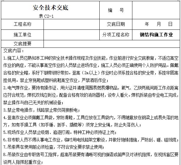 工程项目安全技术交底大全(342页)_4