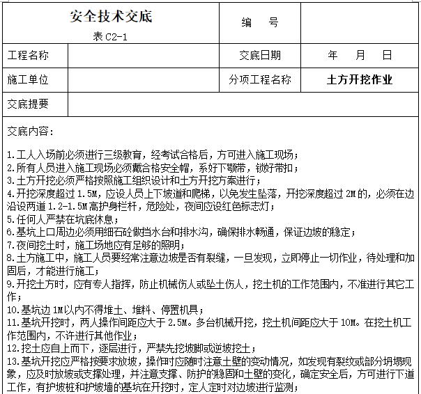工程项目安全技术交底大全(342页)_10