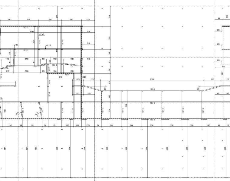 5套底板钢筋支撑架设计与布置方案布置图~-[名企]底板钢筋支架横梁布置图联系梁布置图_4