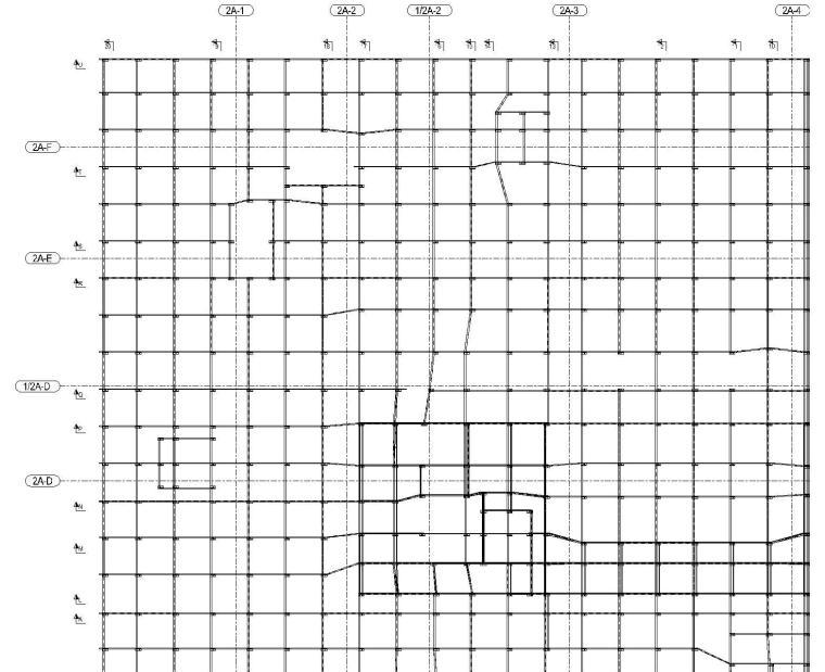 5套底板钢筋支撑架设计与布置方案布置图~-[名企]底板钢筋支架斜撑布置图CAD2016_1