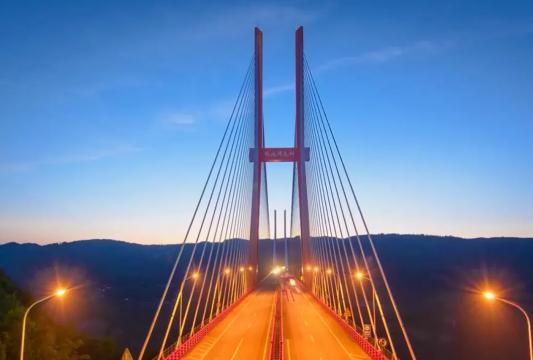 大跨度钢桁混凝土梁混合梁斜拉桥设计与施工_12