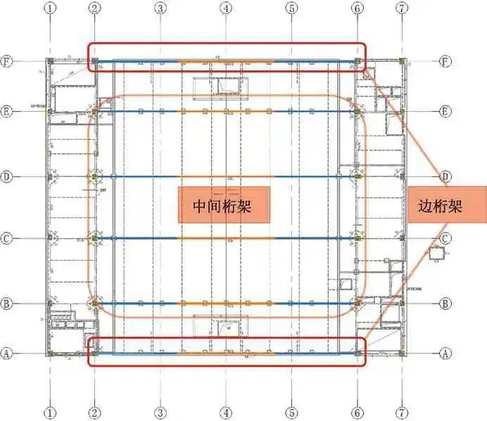 多层大跨度钢桁架安装技术的研究_2