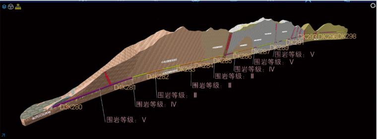BIM在铁路隧道洞身中的应用_9