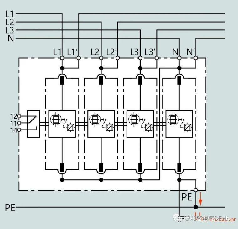 低压开关设备组件(防雷)电涌保护解决方案_7