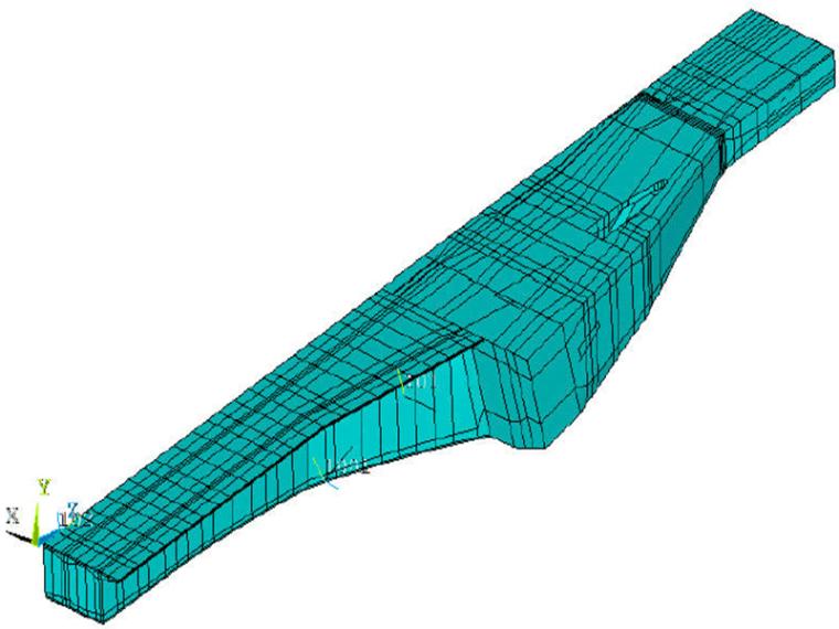 钢混组合梁悬索桥施工图纸460页计算书130页_12