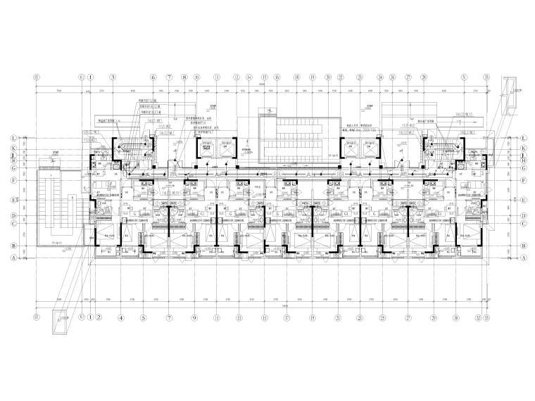 大型楼盘及配套设施电气施工图2021全套图纸_3