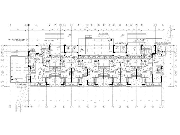 大型楼盘及配套设施电气施工图2021全套图纸_2