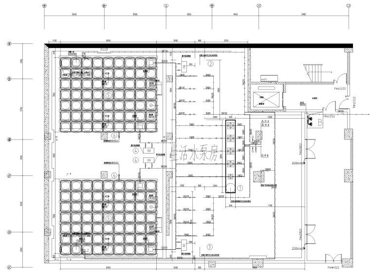 123100㎡框剪结构医院新建工程全套图纸_9