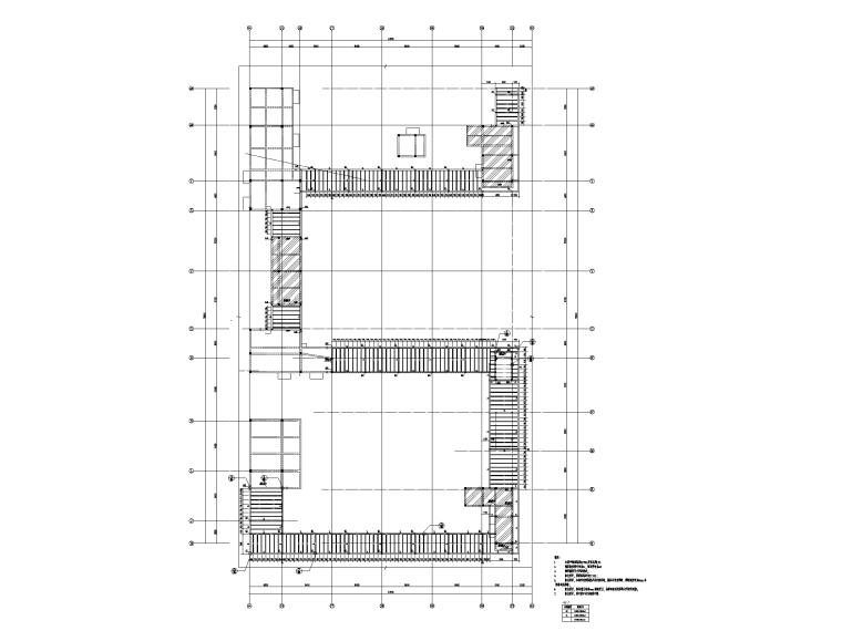 123100㎡框剪结构医院新建工程全套图纸_4