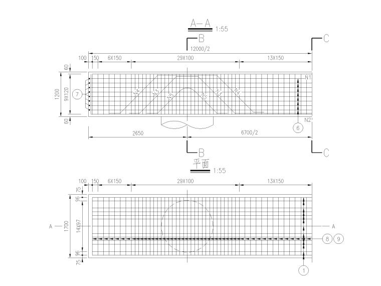 123100㎡框剪结构医院新建工程全套图纸_7