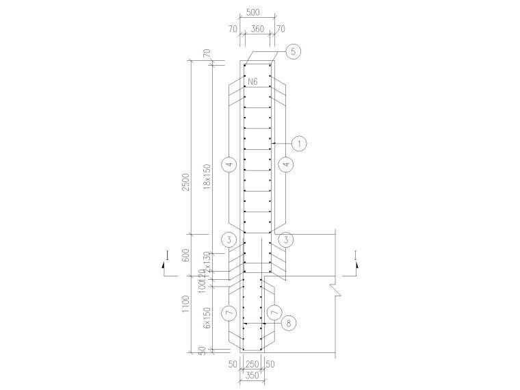 123100㎡框剪结构医院新建工程全套图纸_6