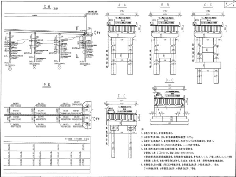 世界级大桥450米上承式钢管拱桥图纸448页_5