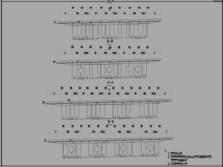 4-8条匝道互通立交初步设计方案图纸889张_3