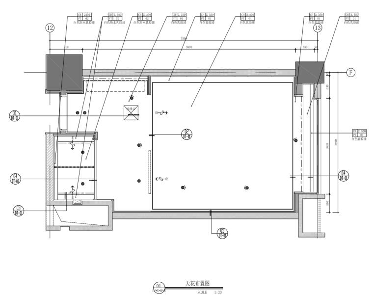 2021年酒店双床房装修图纸_7