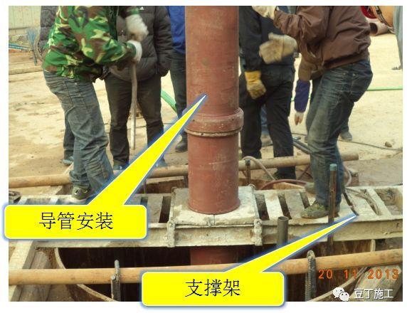打桩时遇到坍孔,导管堵管,钢筋笼上浮,咋办_24