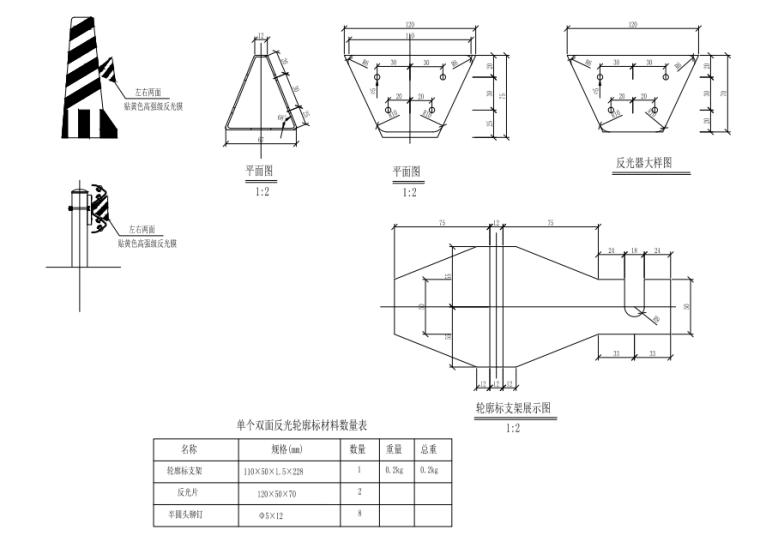 [重庆]桥梁护栏改造施工图汇总334p(2021)_7