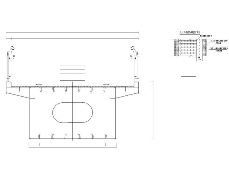 37.72m+23.78m跨径钢箱梁人行天桥图纸2019_6