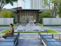 TOD住宅大区社区综合体景观深化方案2020