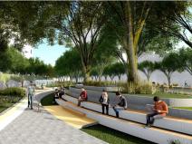 [广东]城市大道沿线用地城市规划设计方案