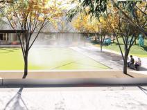 [山东]知名商业综合体示范区景观设计方案