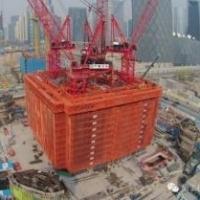 超高层施工装备_建筑施工图片